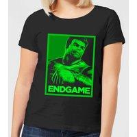 Avengers Endgame Hulk Poster Women's T-Shirt - Black - L - Black