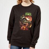 Marvel Incredible Hulk Dead Like Me Women's Sweatshirt - Black - XXL - Black