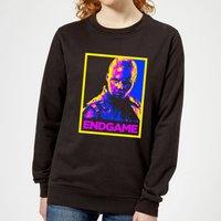 Avengers Endgame Nebula Poster Women's Sweatshirt - Black - XS - Black