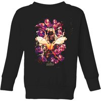 Avengers Endgame Splatter Kids' Sweatshirt - Black - 7-8 Years - Black