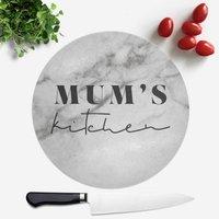 Mum's Kitchen Round Chopping Board
