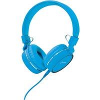 AV: Link Multimedia Headphones with Inline Microphone - Blue/Black - Music Gifts