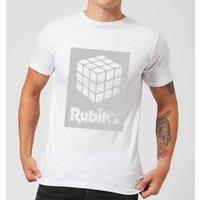 Rubik's Core Box Men's T-Shirt - White - 3XL - White