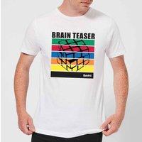 Rubik's Brain Teaser Men's T-Shirt - White - XL - White