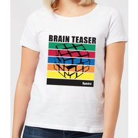 Rubik's Brain Teaser Women's T-Shirt - White - 3XL - White