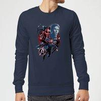 Avengers: Endgame Shield Team Sweatshirt - Navy - M