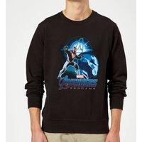 Avengers: Endgame Iron Man Suit Sweatshirt - Black - 5XL - Black