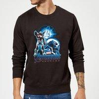 Avengers: Endgame War Machine Suit Sweatshirt - Black - S - Black