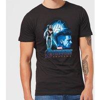 Avengers: Endgame Hawkeye Suit Mens T-Shirt - Black - XXL