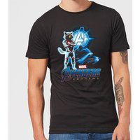 Avengers: Endgame Rocket Suit Mens T-Shirt - Black - L - Black