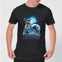 Avengers: Endgame War Machine Suit Mens T-Shirt - Black - M - Black