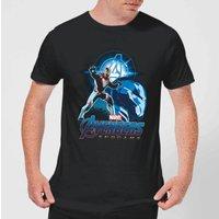 Avengers: Endgame Iron Man Suit Mens T-Shirt - Black - 3XL - Black