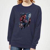 Avengers: Endgame Shield Team Women's Sweatshirt - Navy - M - Navy