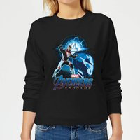 Avengers: Endgame Iron Man Suit Women's Sweatshirt - Black - L - Black