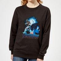 Avengers: Endgame Hulk Suit Women's Sweatshirt - Black - XS - Black