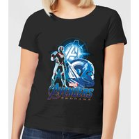 Avengers: Endgame Ant Man Suit Women's T-Shirt - Black - XL - Black