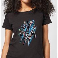 Avengers: Endgame Logo Team Women's T-Shirt - Black - S - Black