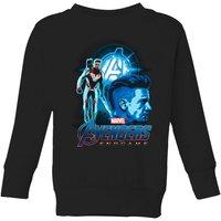 Avengers: Endgame Hawkeye Suit Kids Sweatshirt - Black - 11-12 Years - Black