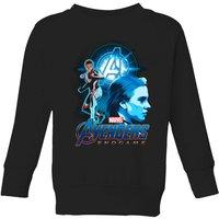 Avengers: Endgame Widow Suit Kids' Sweatshirt - Black - 9-10 Years - Black