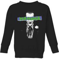 DC Comics Batman Joker The Greatest Stories Kids' Sweatshirt in Black - 5-6 Years - Black