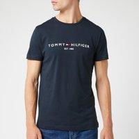 Tommy Hilfiger Men's Tommy Logo T-Shirt - Sky Captain - XXL
