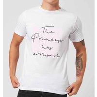 The Princess Has Arrived Men's T-Shirt - White - XL - White