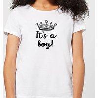 It's A Boy Women's T-Shirt - White - 4XL - White