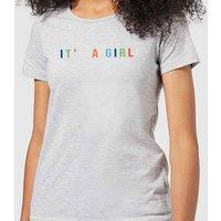 It's A Girl Women's T-Shirt - Grey - 3XL - Grey