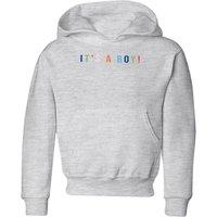 It's A Boy Kids' Hoodie - Grey - 9-10 Years - Grey
