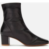 by FAR Women's Sofia Leather Heeled Boots - Black - UK 8