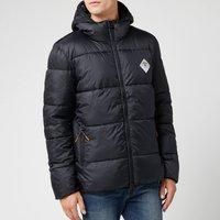 Barbour Beacon Mens Ross Quilt Jacket - Black - XL - Black