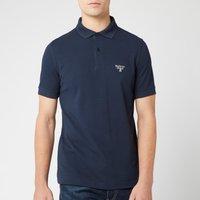 Barbour Beacon Men's Polo Shirt - Navy - S - Blue