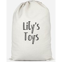 Girl's Named Toys Cotton Storage Bag - Small - Olivia