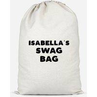 Girl's Named Swag Cotton Storage Bag - Large - Sophia