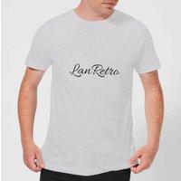 Lanre Retro Lanretro Dark Men's T-Shirt - Grey - XS - Grey