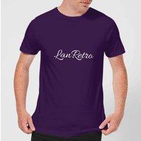 Lanre Retro Lanretro Men's T-Shirt - Purple - S - Purple