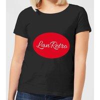 Lanre Retro Lanretro Logo Women's T-Shirt - Black - 4XL - Black