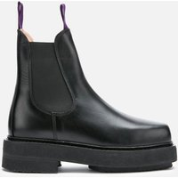 Eytys Ortega Leather Chunky Chelsea Boots - Black - UK 9