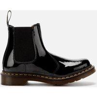 Dr. Martens Womens 2976 Patent Lamper Chelsea Boots - Black - UK 6