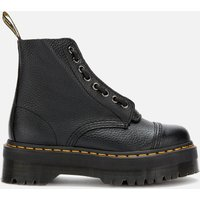 Dr. Martens Women's Sinclair Leather Zip Front Boots - Black - UK 3 - Black