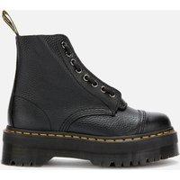 Dr. Martens Women's Sinclair Leather Zip Front Boots - Black - UK 8 - Black
