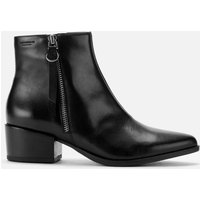 Vagabond Women's Marja Leather Heeled Ankle Boots - Black - UK 4 - Black