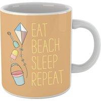Eat Beach Sleep Repeat Mug - Beach Gifts