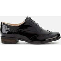 Clarks Women's Hamble Patent Brogues - Black - UK 8