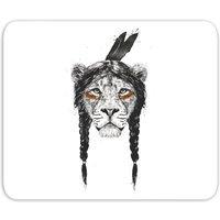 Native Lion Mouse Mat