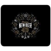Hoppy New Beer Mouse Mat