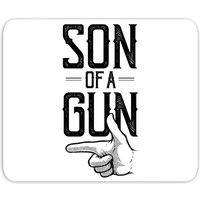 Son Of A Gun Mouse Mat - Gun Gifts
