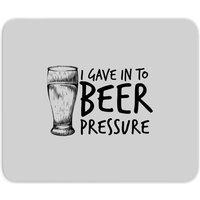 Beer Pressure Mouse Mat