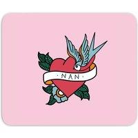 Nan Heart Mouse Mat - Nan Gifts