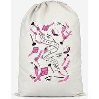 Makeup Is My Life Cotton Storage Bag - Large - Makeup Gifts